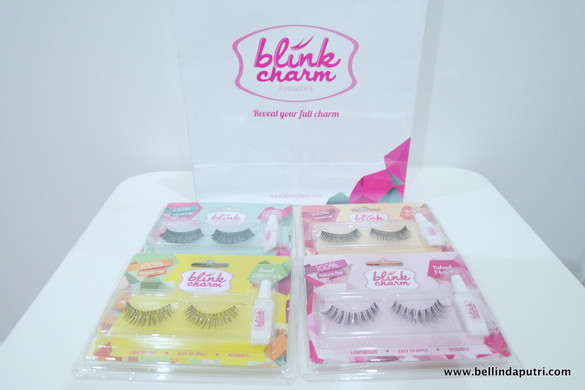 REVIEW Blink Charm Fake Lashes