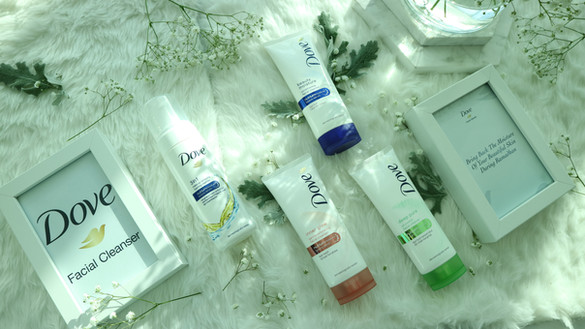 EVENT REPORT & REVIEW Dove Facial Foam (All 3 Variants)