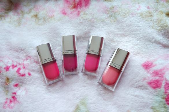 REVIEW Maybelline Lip Tint (ALL 4 SHADES)