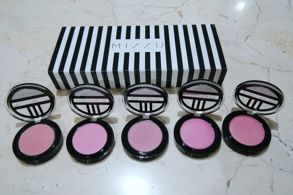 REVIEW Mizzu Blush Me Up (ALL SHADES)