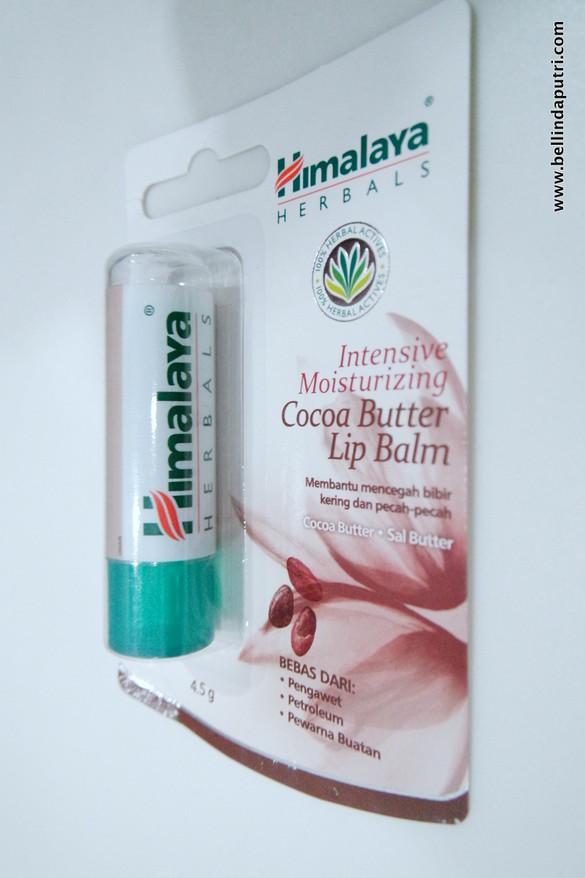 REVIEW Himalaya Herbals Cocoa Butter Lip Balm