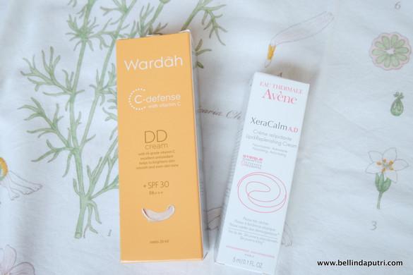 REVIEW Wardah DD Cream & Avene Ceracalm