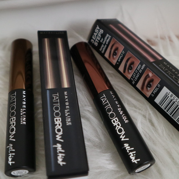 REVIEW Maybelline Tattoo Brow Gel Tint (Dark Brown & Light Brown)