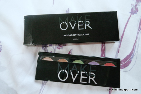 REVIEW Make Over Camouflage Cream Concealer & Ultra Hi-Matte Lipstick 016 (Silhouette)