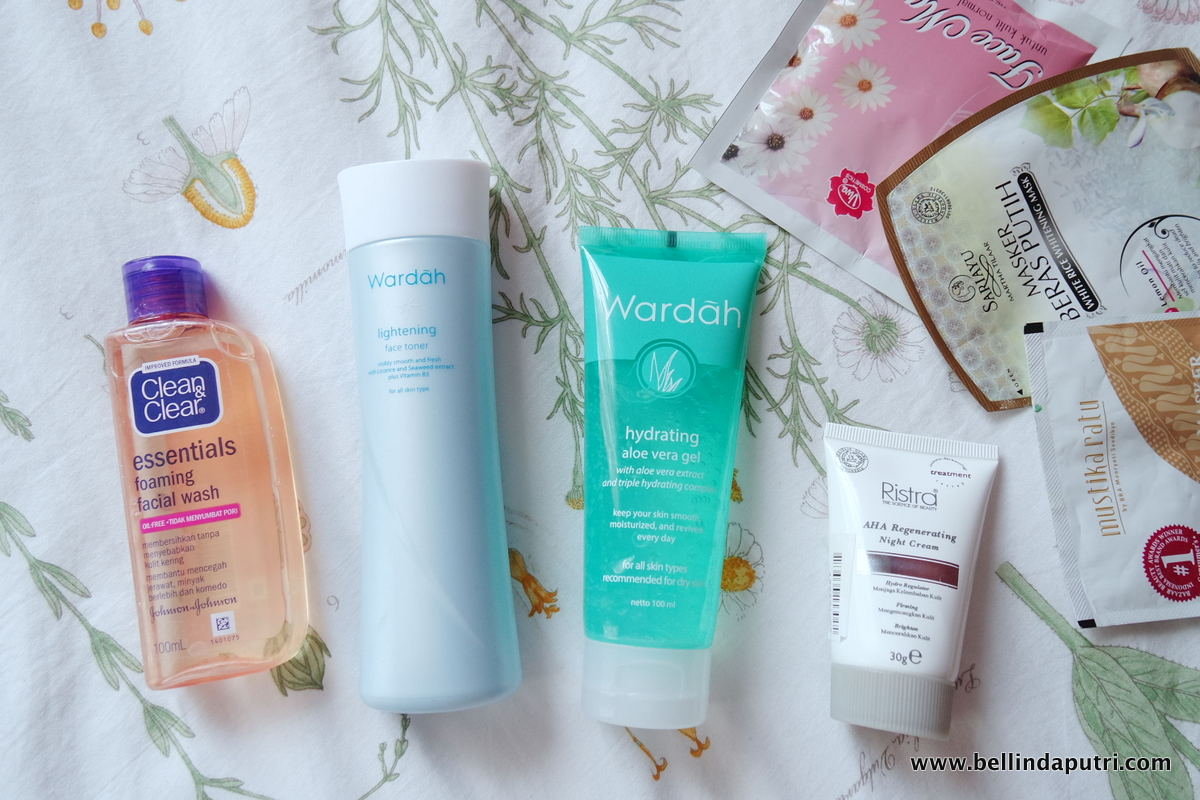 The 200k Rupiah Skincare Bellinda Putri And Makeup Wardah Essential Facial Wash Reviews