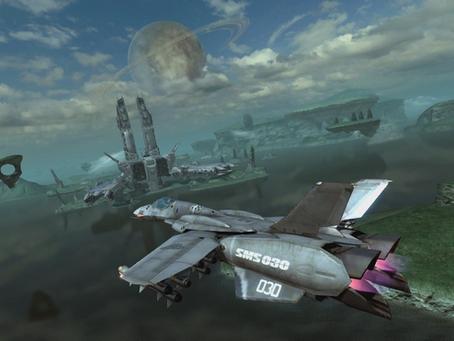 Real Flight Controls in Macross Games