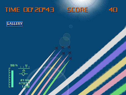 Aero Dancing: Game Console Air Show Training and Performing