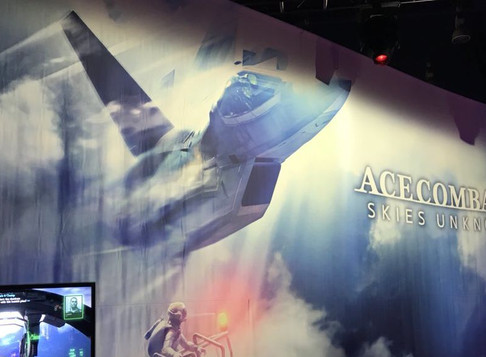 Interview: Ace Combat Fan at PAX West 2018 Trying Out Ace Combat 7: Skies Unknown