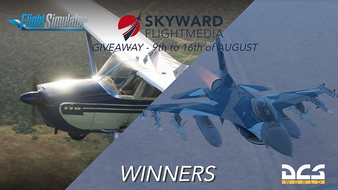 August 2021 Giveaway Winners Announced