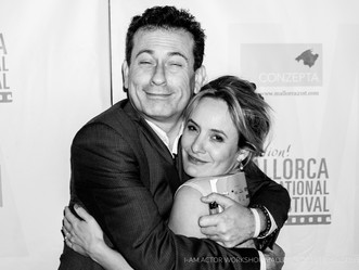 Giles Foreman and Tara: Institute for Acting Mallorca @Evolution Filmfestival