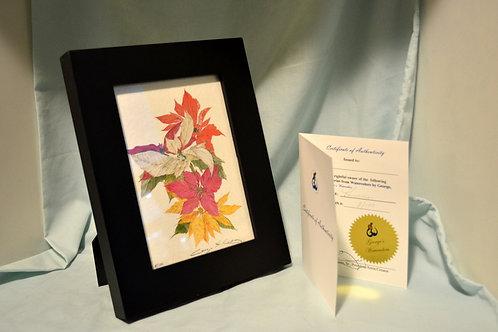 Poinsettias (Desk Size)