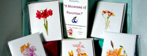 15 Box of NOTE CARDS (1 design/ 1 each)