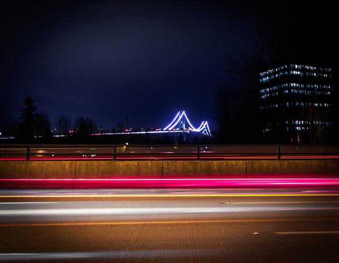 Lions Gate Bridge, B.C.