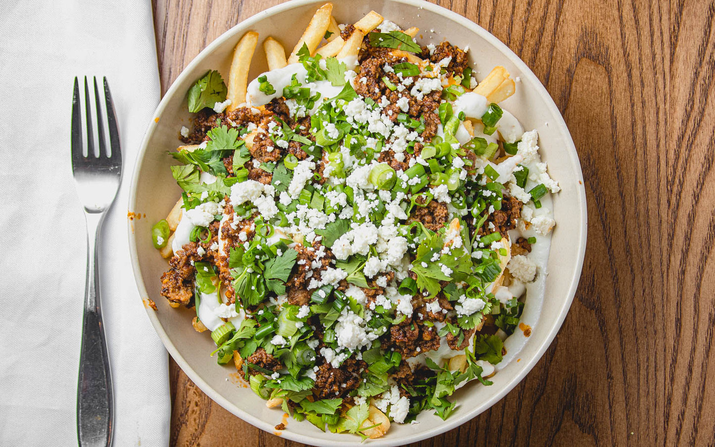 Lamb Chorizo Fries