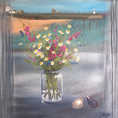 Wildflowers and Seashells, St Ives