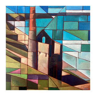 Cubist Card - Wheal Coates