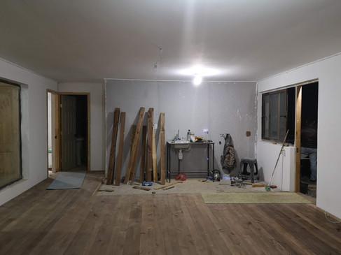 Interior en obra