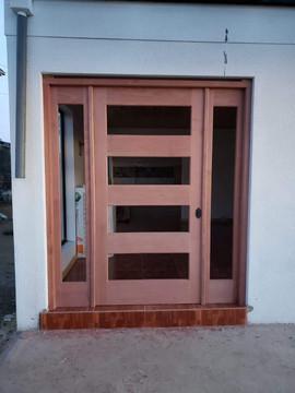 Instalación puerta