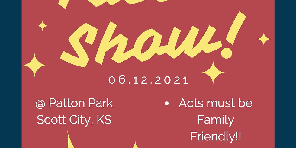 Community Talent Show in the Park