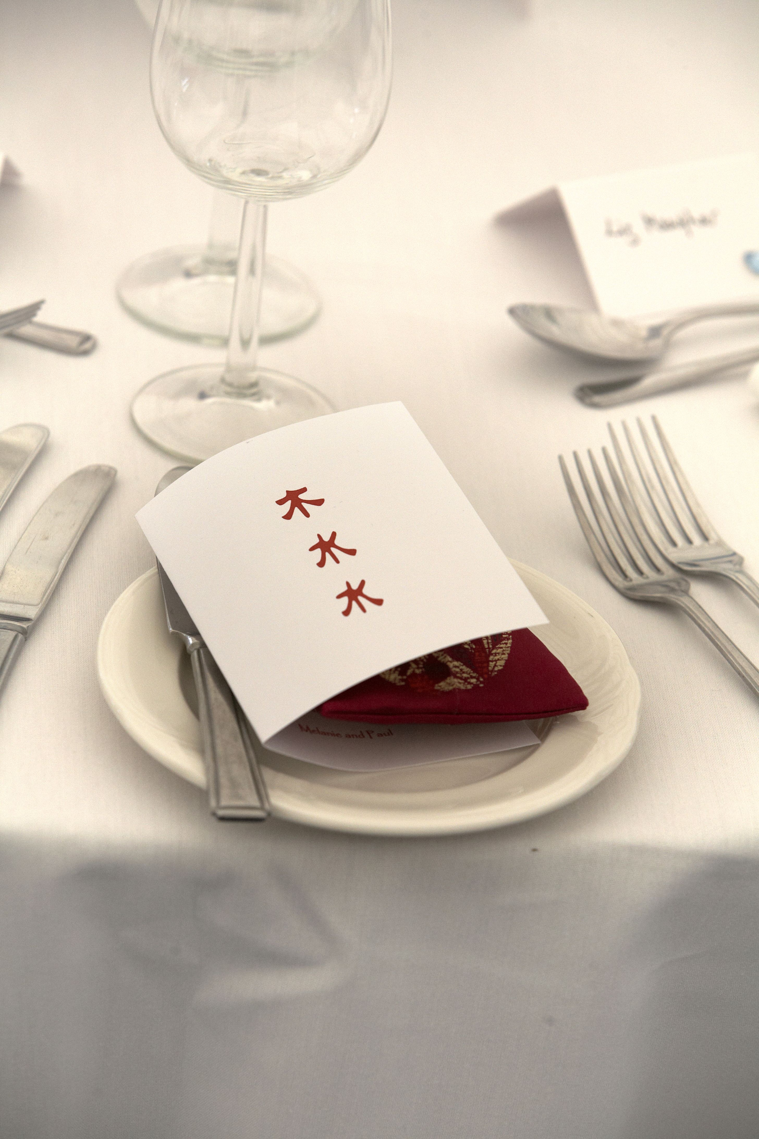 Table setting detail
