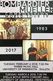 Mueller/Bombardier Composition World Tour IV 2017