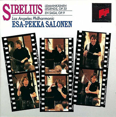 Sibelius & the Los Angeles Philharmonic &  Esa-Pekka Salonen.