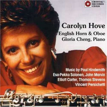 20th Century Music for the English Horn & Oboe by Carolyn Hove