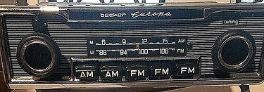 60's Mercedes Porsche Jag Becker Europa