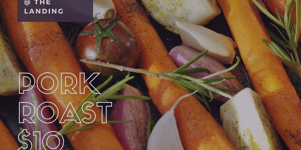 Lunch to go @ The Landing - Pork Roast
