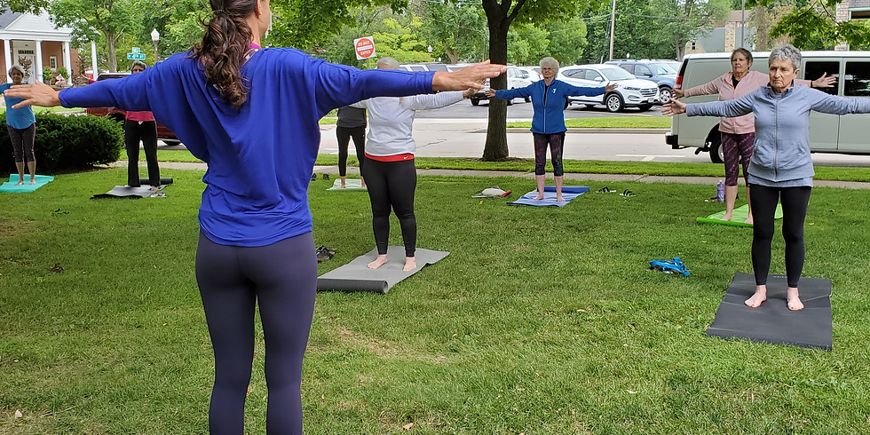 Yoga at The Landing