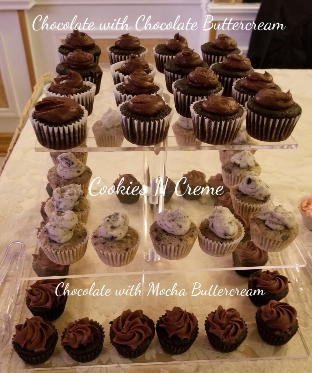 Mini Cupcakes Tower