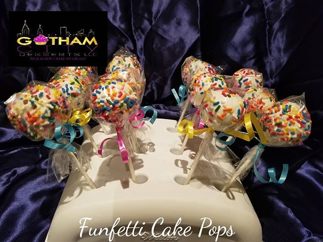 Funfetti Cake Pops