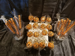 BASKETBALL THEMED TREATS