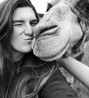 Courtney & camel.jpg
