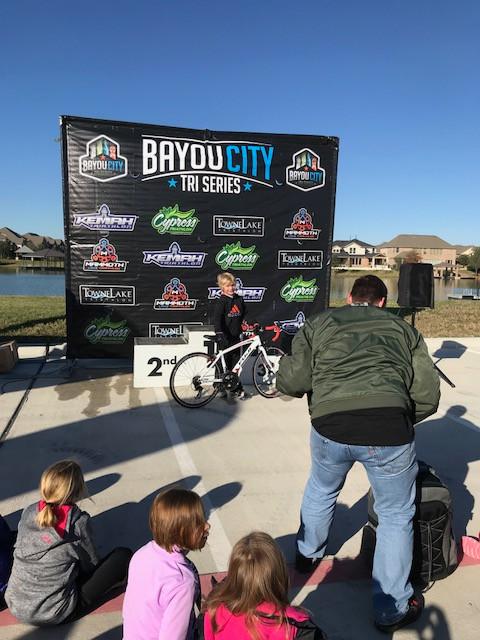 Bike winner Towne Lake Youth Tri- Fury Tri Team