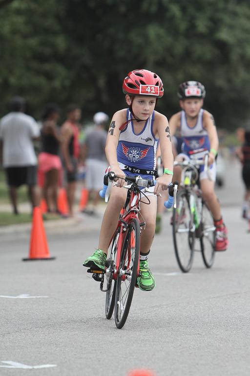 Bike at Hill Country Kids Tri