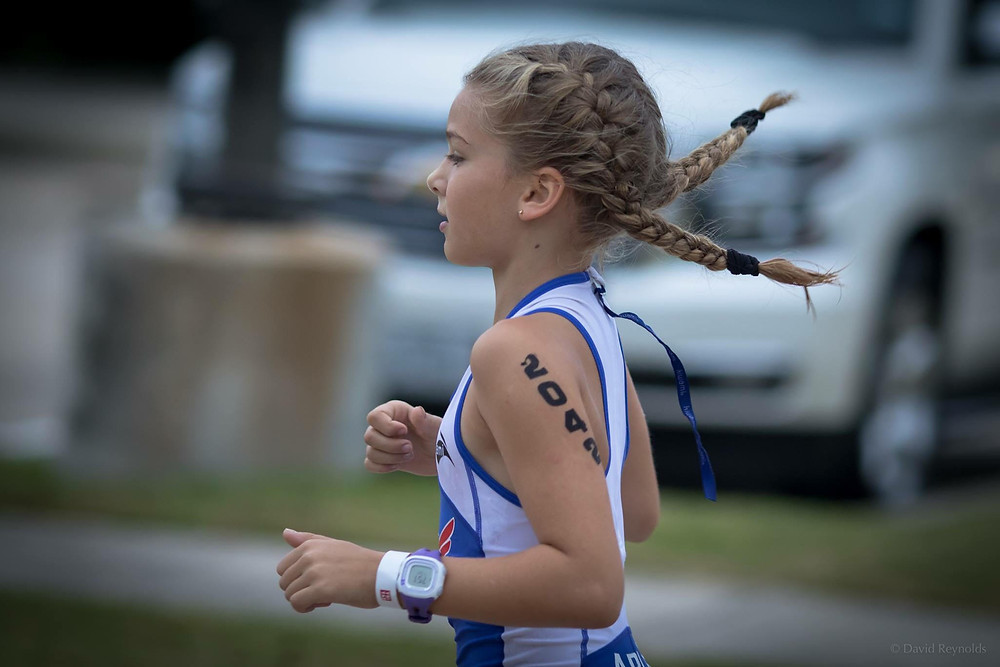 Sophie at Kemah Youth Tri