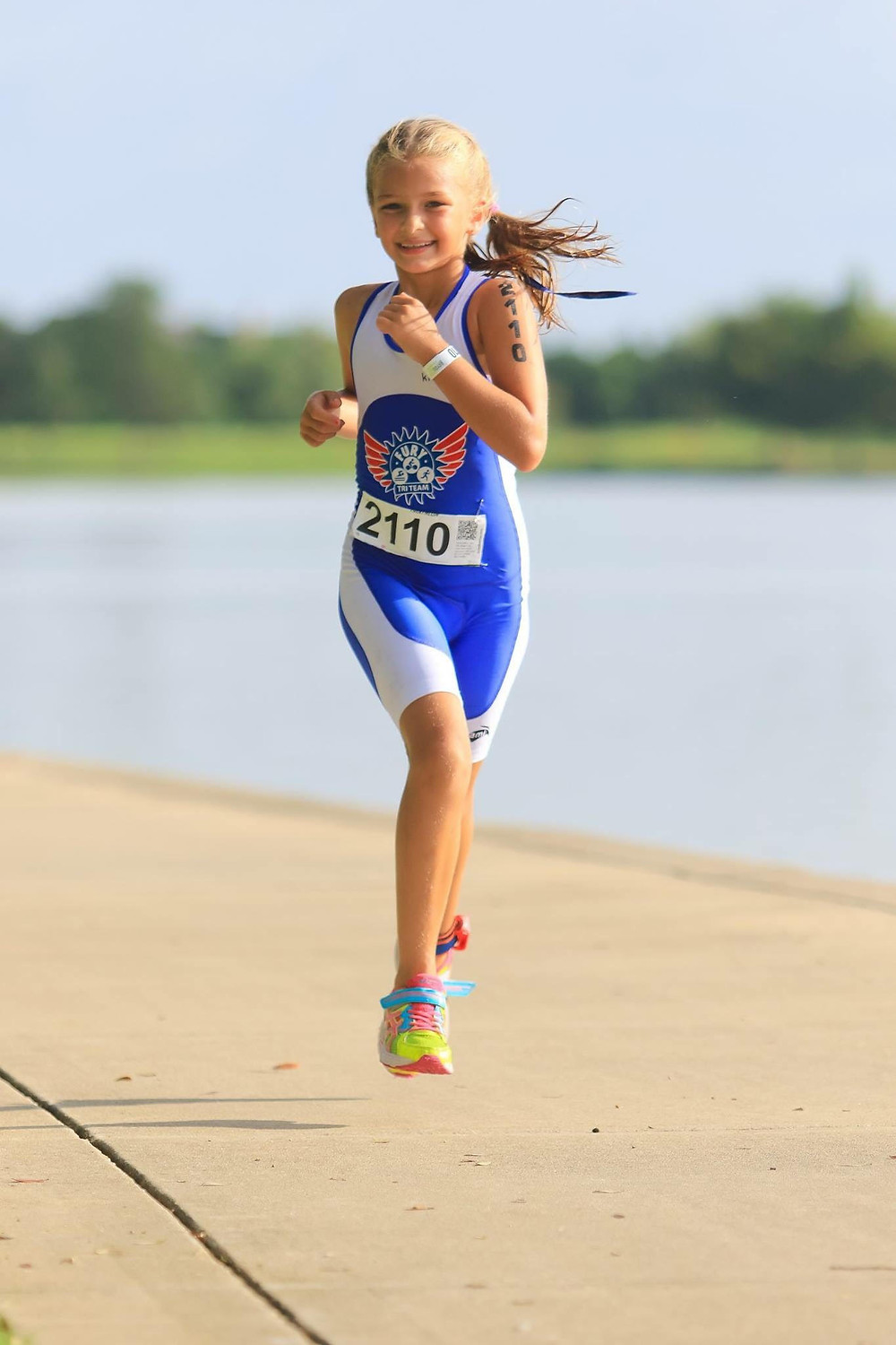 Sophie at Cypress Youth Tri