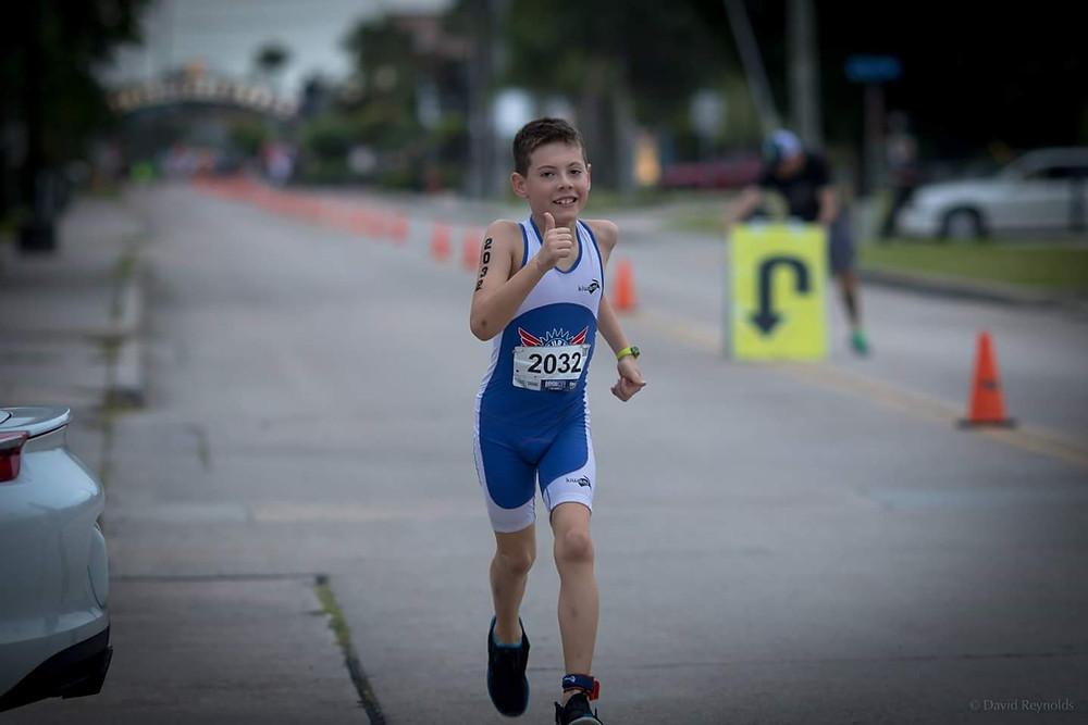 Hayden on the run