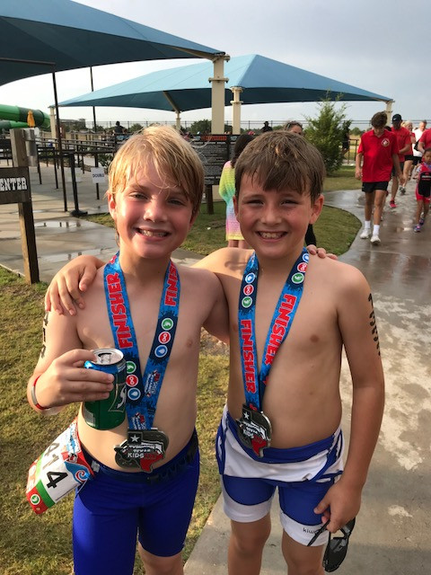 Christopher and Jace 2018 race