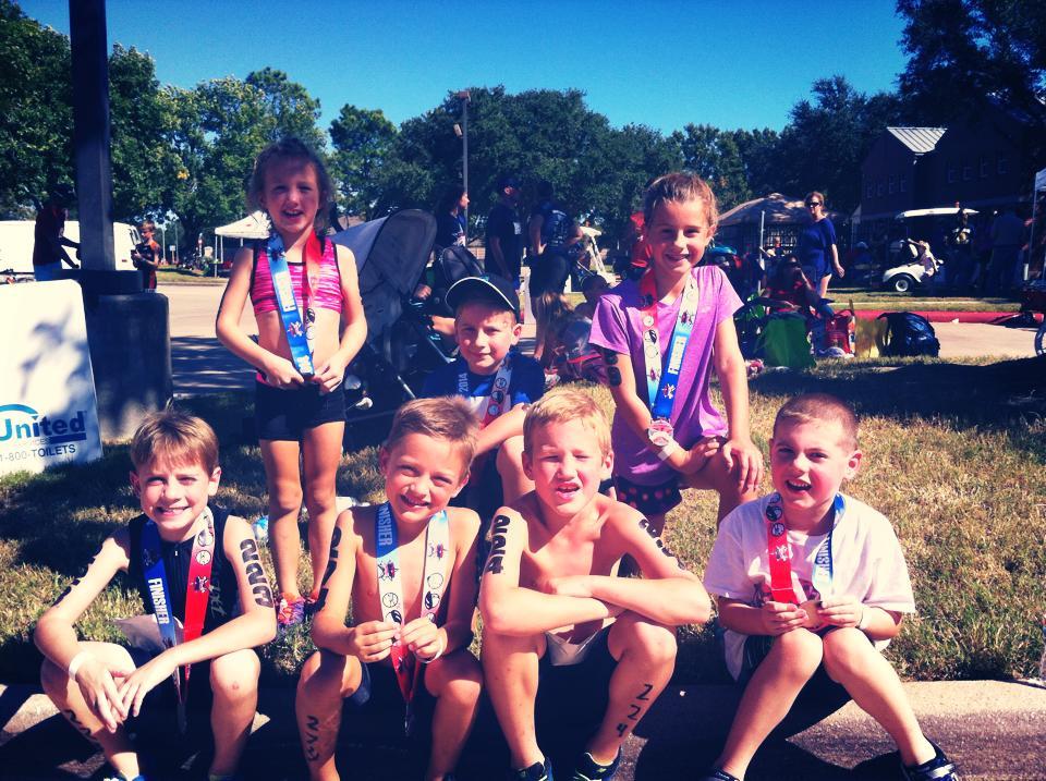 Fairfields Kids Triathlon 2014