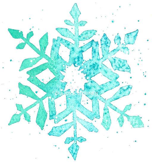 Framed Print 507-15 Snowflake