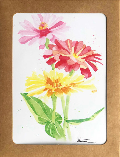 Flowers Blank Note Cards