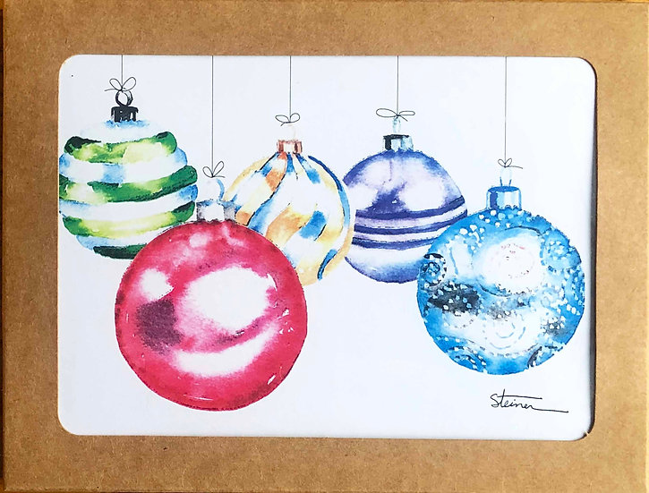 Holidays Blank Note Cards