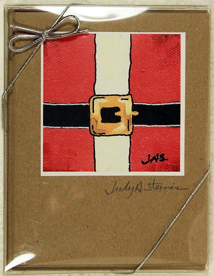 Christmas Series III Blank Note Card Pack - Kraft
