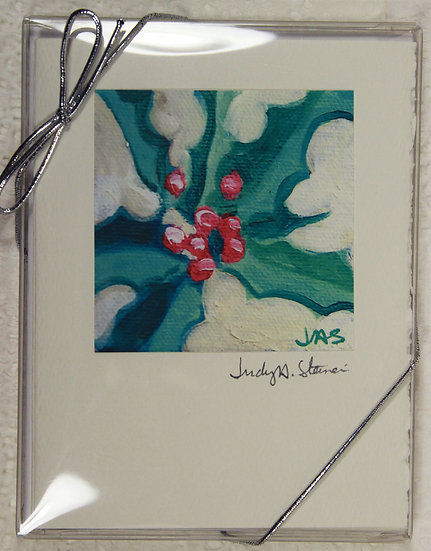 Christmas series IV Blank Note Card Pack