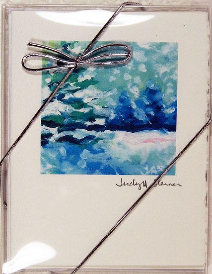 Christmas series III Blank Note Card Pack