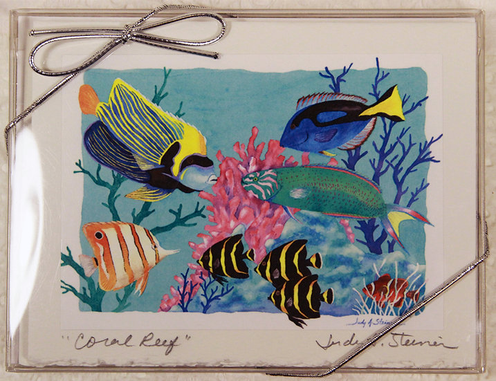 Fish & Fun Blank Note Card Pack