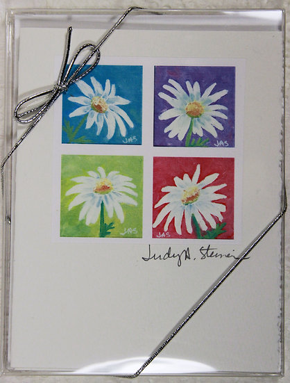 Daisies Blank Note Card Pack