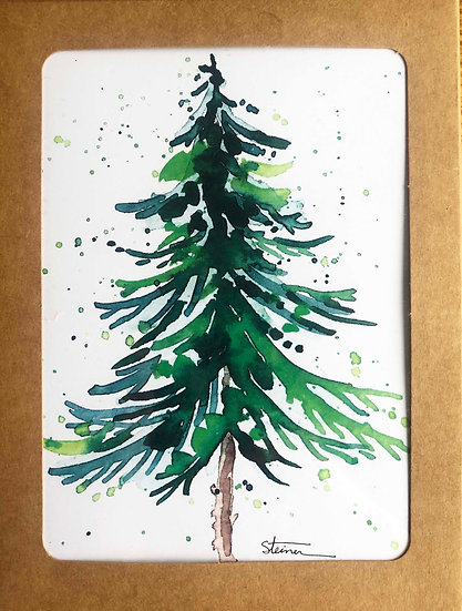 Trees Blank Note Cards